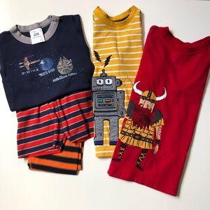 Hanna Andersson Shirts Pajamas Star Wars Boys Lot